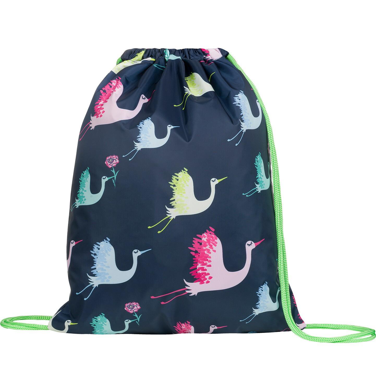 Endo - Plecak - worek, w kolorowe żurawie SD03G012_1