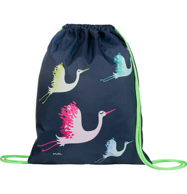 Endo - Worek - plecak, w kolorowe żurawie SD03G012_1 231