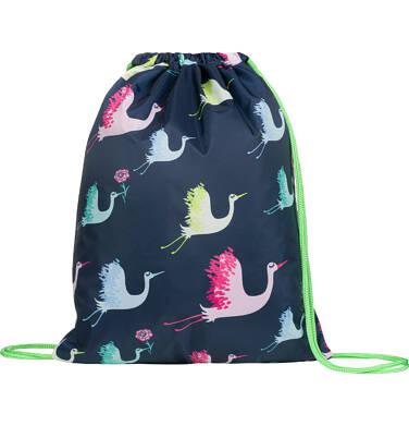 Endo - Plecak - worek, w kolorowe żurawie SD03G012_1 10
