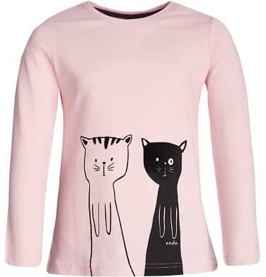 Endo - T-shirt z długim rękawem dla dziewczynki 3-8 lat D82G049_1