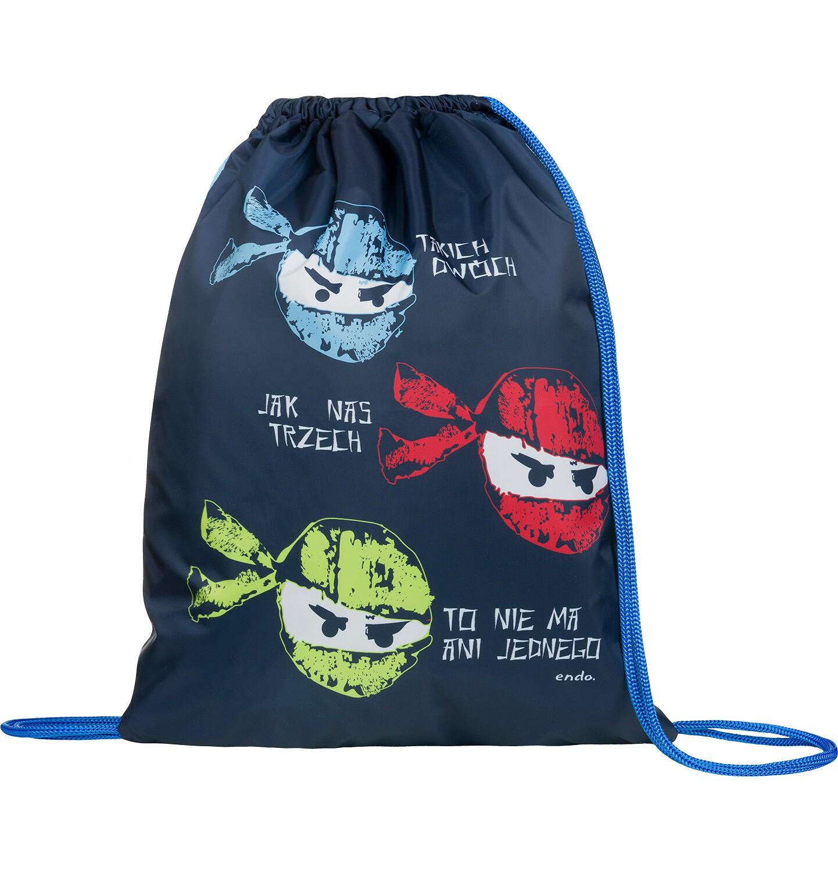 Endo - Worek - plecak, motyw z Ninją SD03G002_1