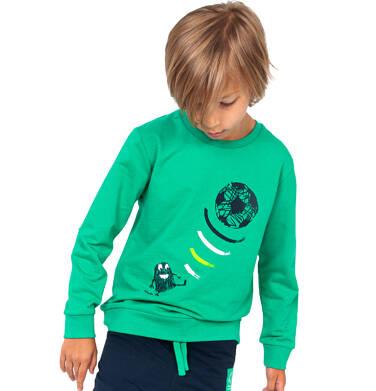 Endo - Bluza dla chłopca, z piłką, zielona, 2-8 lat C04C010_1 4