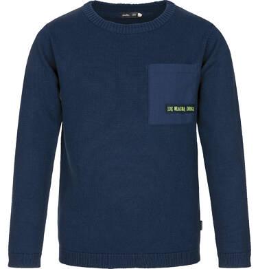 Sweter z kieszonką dla chłopca 9-13 lat C91B508_1