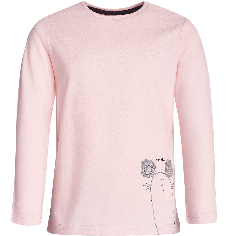 Endo - T-shirt z długim rękawem dla dziewczynki 3-8 lat D82G054_1