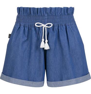 Endo - Krótkie spodenki jeansowe dla dziewczynki, 2-8 lat D03K031_2 8