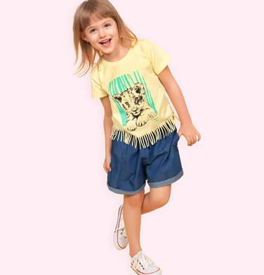 Endo - Krótkie spodenki jeansowe dla dziewczynki, 2-8 lat D03K031_2 6
