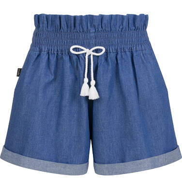 Endo - Krótkie spodenki jeansowe dla dziewczynki, 9-13 lat D03K531_2 244