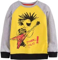 Bluza dresowa przez głowę dla chłopca 9-13 lat C71C512_1
