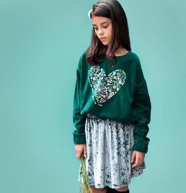 Endo - Welurowa spódnica dla dziewczynki 3-8 lat D82J016_1