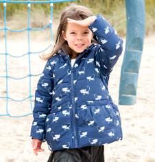 Endo - Dłuższa kurtka dla dziewczynki 3-8 lat D72A003_1