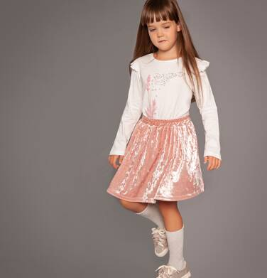 Endo - Welurowa spódnica dla dziewczynki 3-8 lat D82J016_2
