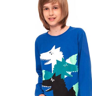 Endo - T-shirt z długim rękawem dla chłopca 9-13 lat C92G542_1