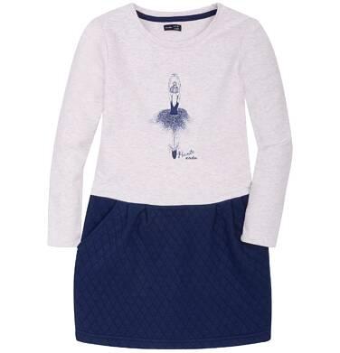 Endo - Sukienka z odcinanym dołem dla dziewczynki 9-13 lat D72H531_1