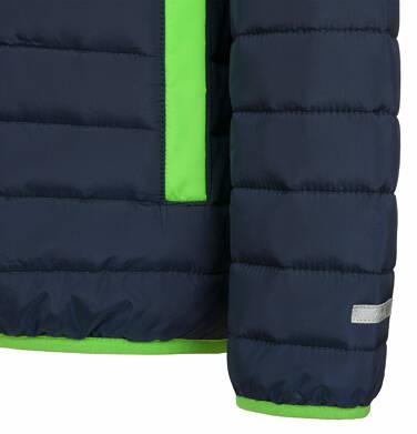 Endo - Pikowana kurtka przejściowa dla chłopca, granatowa, 9-13 lat C03A506_1,6