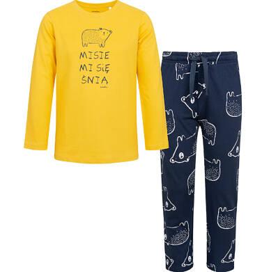 Endo - Piżama z długim rękawem dla chłopca, z misiem, 9-13 lat C04V014_1 5