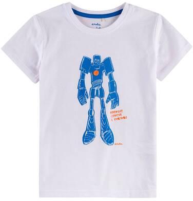 Endo - T-shirt z krótkim rękawem dla chłopca 4-8 lat C71G034_1