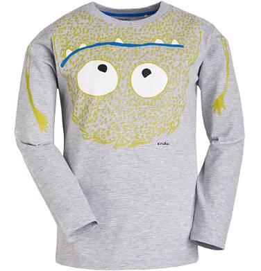 Endo - T-shirt z długim rękawem dla chłopca 3-8 lat C81G025_1