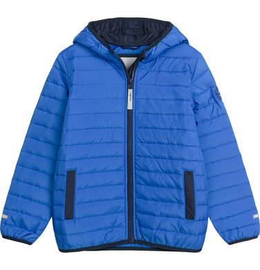 Pikowana kurtka wiosenna dla chłopca, niebieska, 2-8 lat C03A006_2