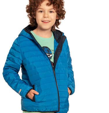 Endo - Pikowana kurtka wiosenna dla chłopca, niebieska, 2-8 lat C03A006_2