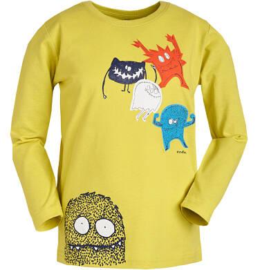Endo - T-shirt z długim rękawem dla chłopca 3-8 lat C81G026_1