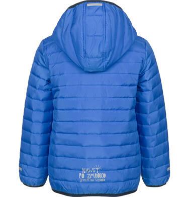 Endo - Pikowana kurtka wiosenna dla chłopca, niebieska, 9-13 lat C03A506_2