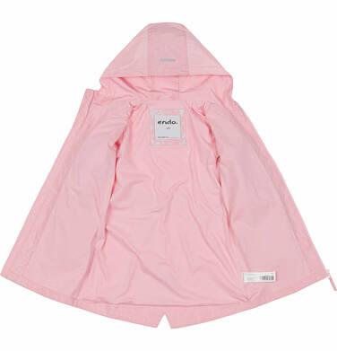 Endo - Przejściowa kurtka parka, z cekinami w kieszeniach, różowa, 2-8 lat D03A001_1,6