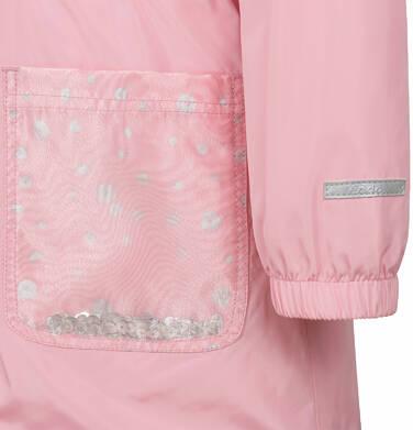 Endo - Przejściowa kurtka parka, z cekinami w kieszeniach, różowa, 2-8 lat D03A001_1,8