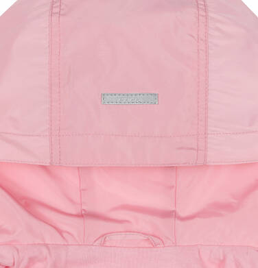 Endo - Przejściowa kurtka parka, z cekinami w kieszeniach, różowa, 2-8 lat D03A001_1,7