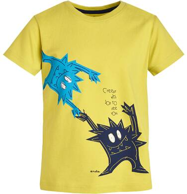 Endo - T-shirt dla chłopca 3-8 lat C81G038_2