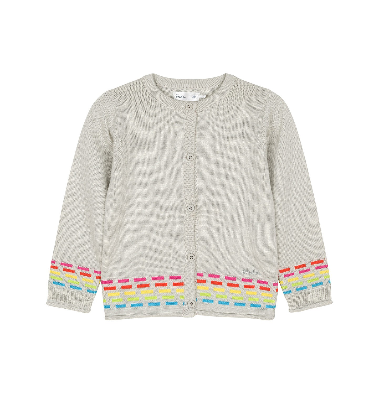 Endo - Sweter rozpinany dla dziecka 0-3 lata N91B013_1