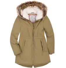 Endo - Długa parka zimowa dla dziewczynki 3-8 lat D72A012_1