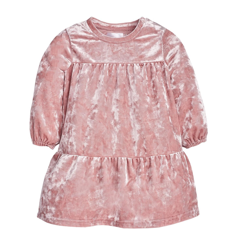 Endo - Sukienka z długim rękawem dla dziecka 6-36 miesięcy N82H004_1
