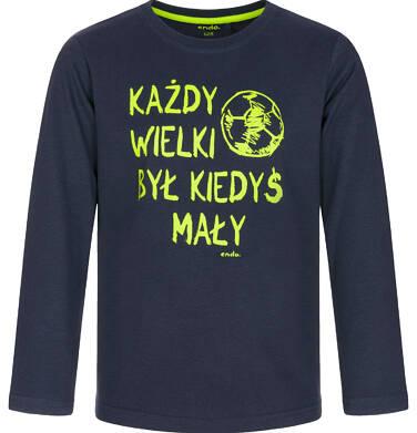Endo - T-shirt z długim rękawem dla chłopca 9-13 lat C92G573_1