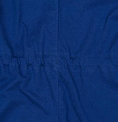 Endo - Przejściowa kurtka parka, z kwiatowym motywem, granatowa, 2-8 lat D03A004_1,8