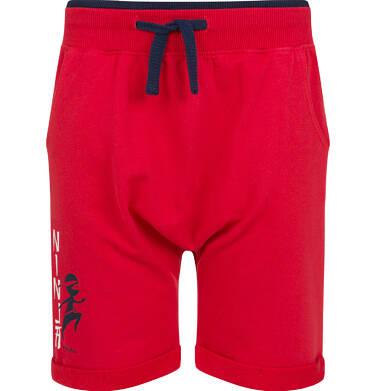 Endo - Krótkie spodenki dresowe dla chłopca, czerwone, 2-8 lat C03K011_2 6