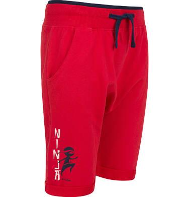 Endo - Krótkie spodenki dresowe dla chłopca, czerwone, 9-13 lat C03K511_2 2