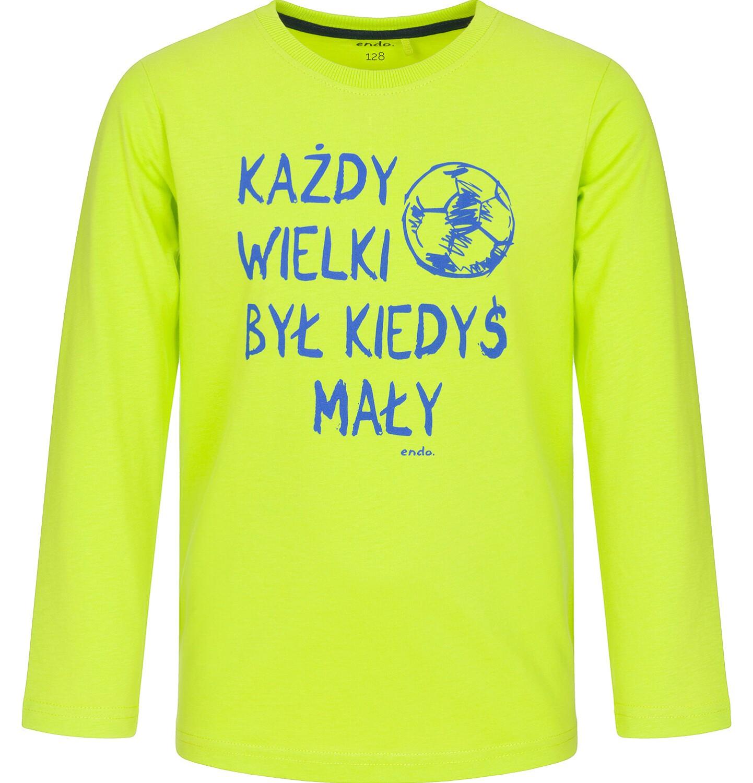 Endo - T-shirt z długim rękawem dla chłopca 9-13 lat C92G573_2