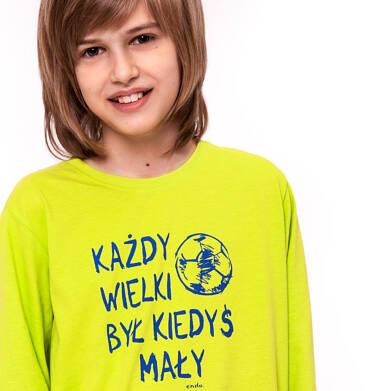 Endo - T-shirt z długim rękawem dla chłopca 9-13 lat C92G573_2,2