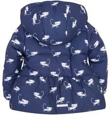 Endo - Dłuższa kurtka dla dziewczynki 2-4 lata N72A007_1