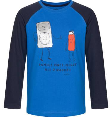 Endo - T-shirt z długim rękawem dla chłopca 9-13 lat C92G614_1