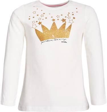"""Endo - """"Jestem królewną i dobrze mi z tym"""" T-shirt z długim rękawem dla dziewczynki 3-8 lat D82G544_1"""
