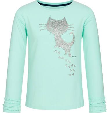 Endo - Bluzka z długim rękawem dla dziewczynki 3-8 lat D92G029_2