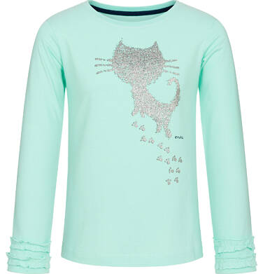 Endo - Bluzka z długim rękawem dla dziewczynki 9-13 lat D92G529_2