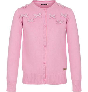 Sweter rozpinany dla dziewczynki 9-13 lat D91B504_1