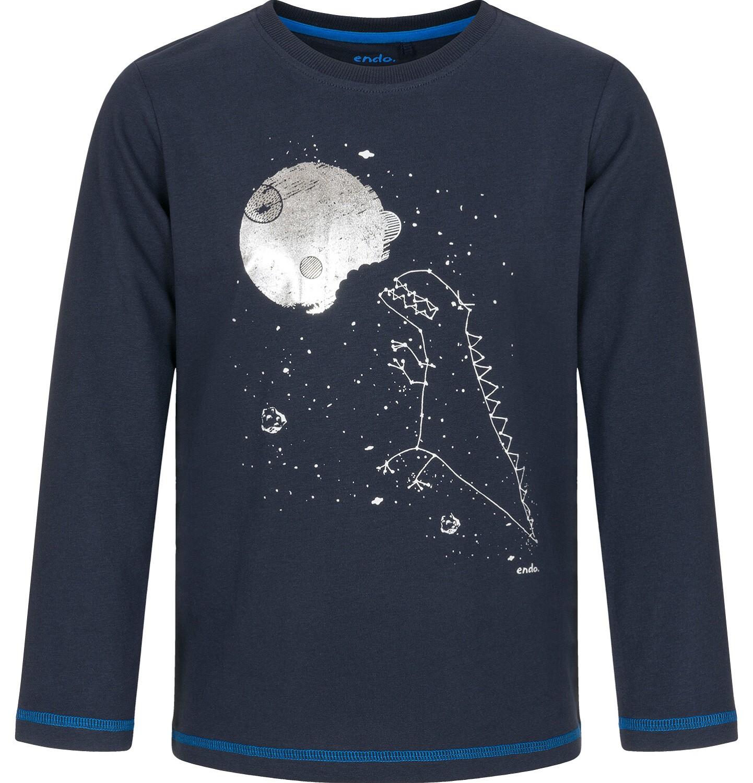 Endo - T-shirt z długim rękawem dla chłopca 9-13 lat C92G574_1