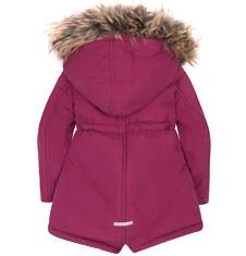 Długa parka zimowa  dla dziewczynki 2-4 lata N72A009_1