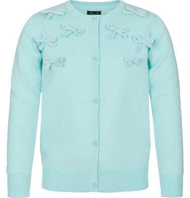 Sweter rozpinany dla dziewczynki 9-13 lat D91B504_2