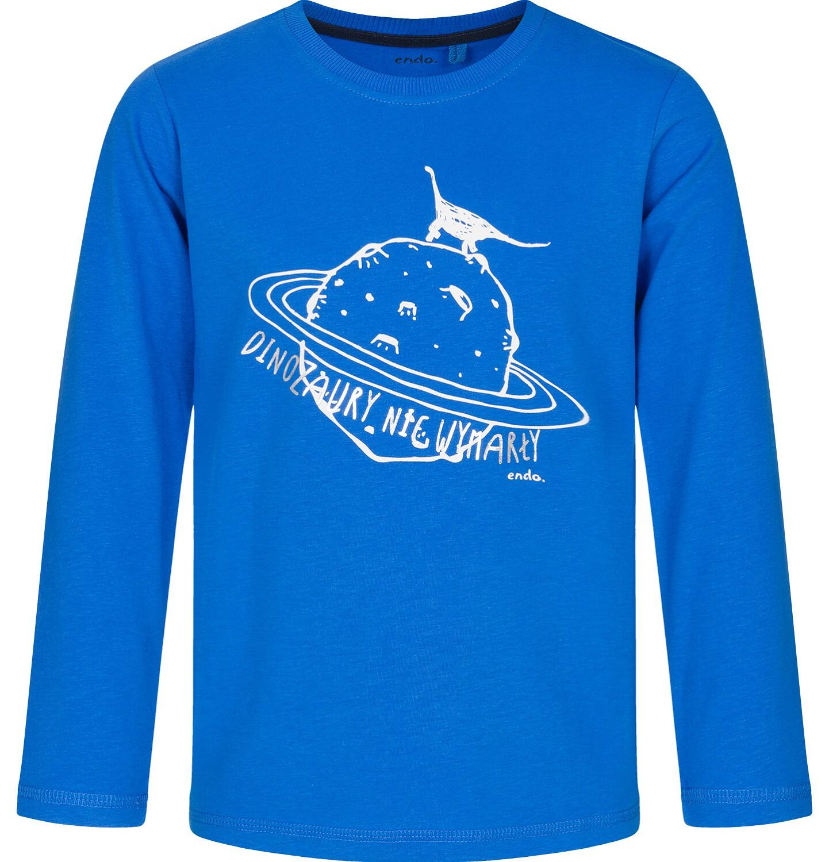 Endo - T-shirt z długim rękawem dla chłopca 9-13 lat C92G575_1