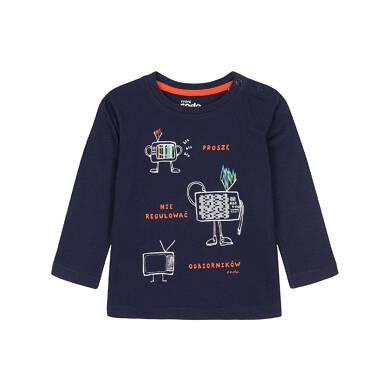 T-shirt z długim rękawem dla dziecka 0-3 lata N92G075_1