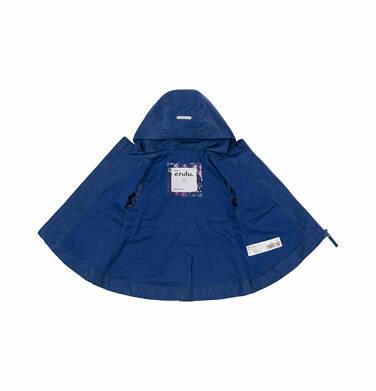 Endo - Wiosenna kurtka dla dziecka do 2 lat, z motywem kwiatów, granatowa N03A005_1
